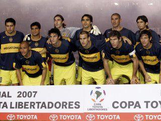 Boca campeón de la Libertadores 2007