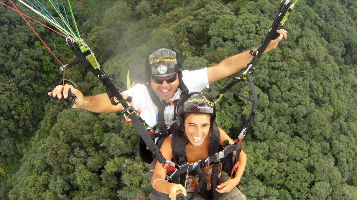Así detuvieron al instructor del accidente del parapente en Tucumán