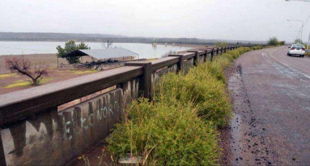 Zona del dique Carrizal, donde fue el hombre abusó de las menores de 12 años