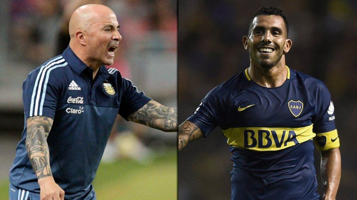 Sampaoli regresó al país y habló de Carlos Tevez: ¿vuelve a la Selección?