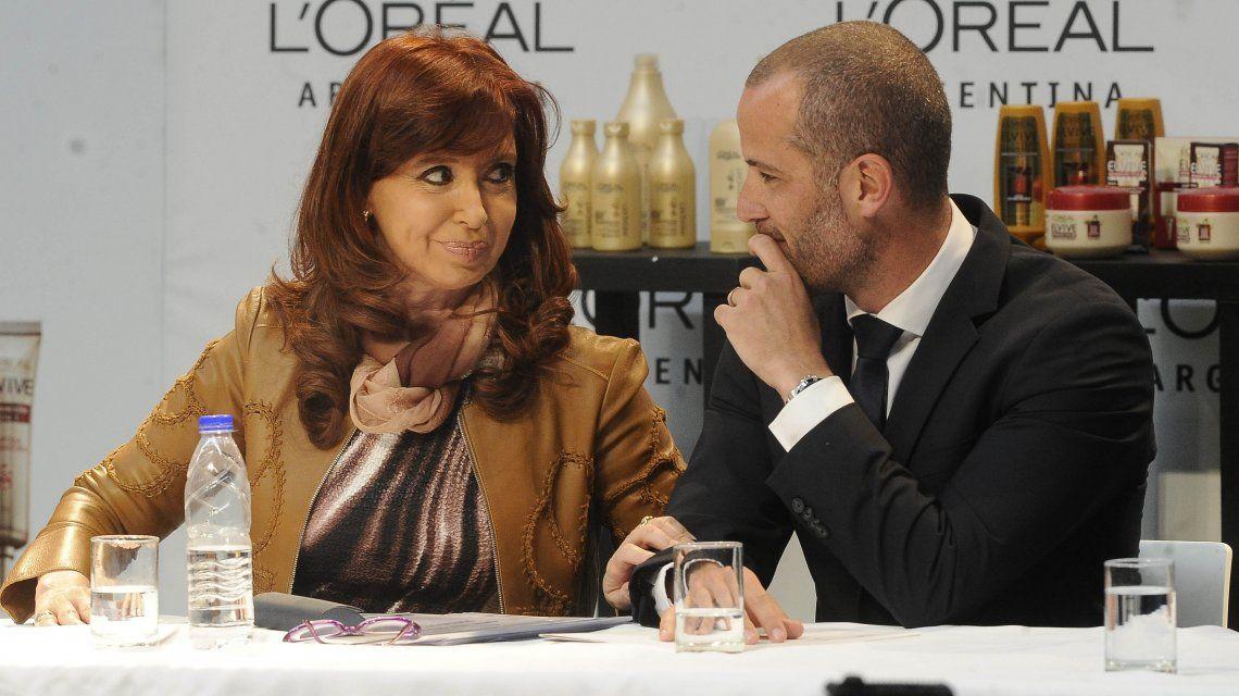 Cristina Kirchner y el CEO de LOreal Argentina en 2015