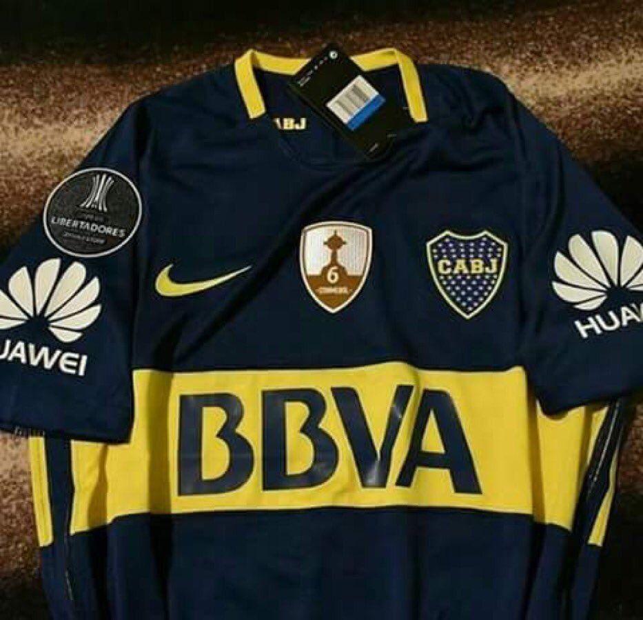 ¡Atención, Xeneizes! Ésta es la camiseta que usará Boca en la Copa Libertadores