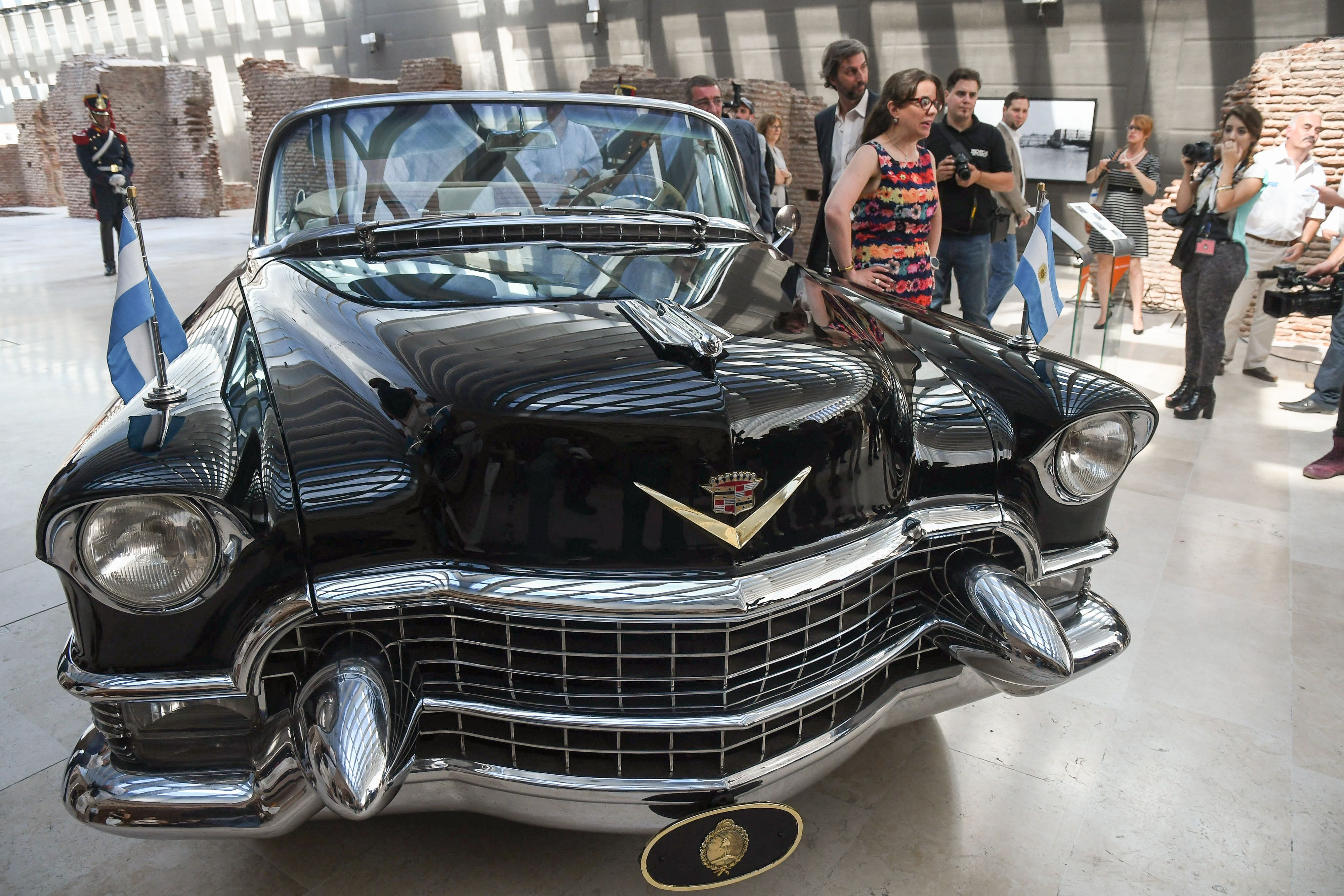 Restauraron el Cadillac que utilizó Perón y será exhibido en el Museo Casa Rosada