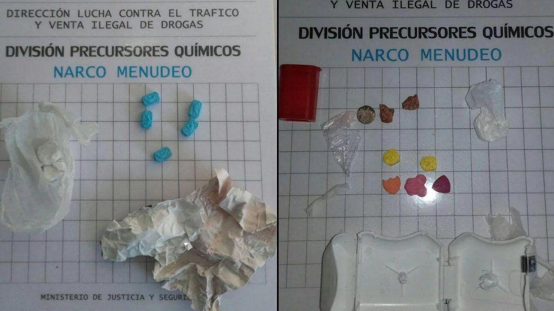 Las dosis fueron secuestradas tras una fiesta electrónica en Punta Carrasco