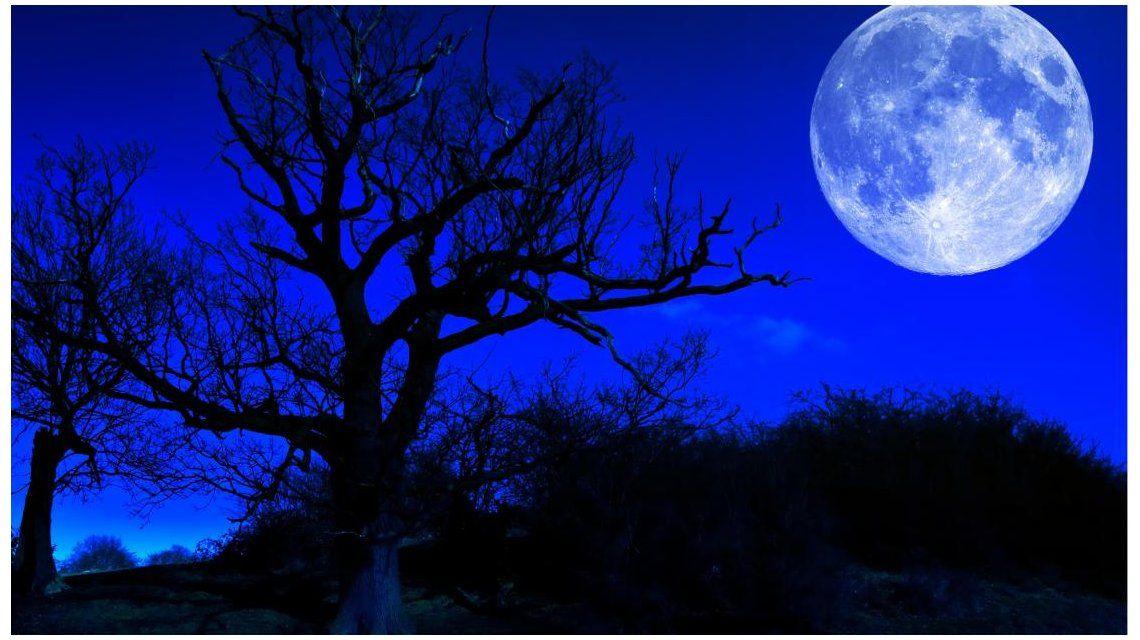 Luna Azul de Sangre