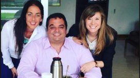 Jorge Triaca y sus hermanas