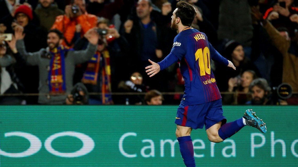 Así fue el primer mes de Lionel Messi en 2018, el año del Mundial de Rusia