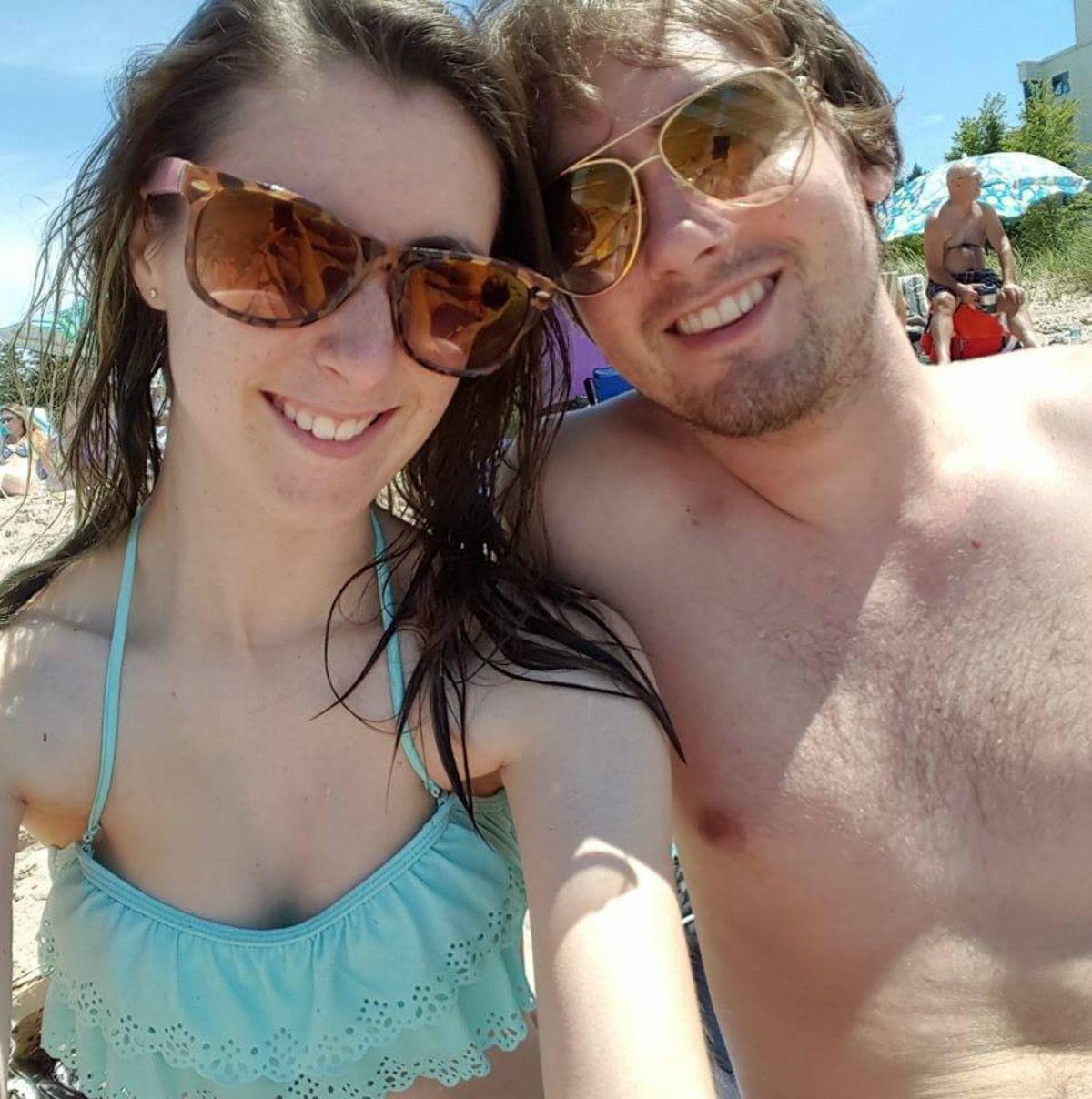 La pareja contrajo los parásitos durante sus vacaciones en Punta Cana