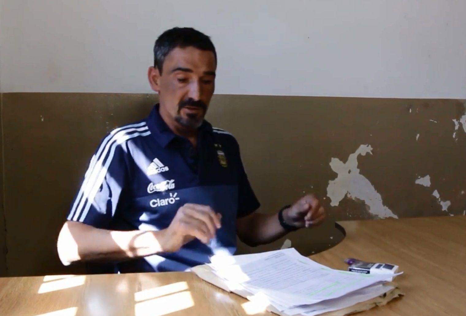 Bebote Álvarez desde la cárcel