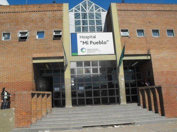 La nena fue llevada al Hospital Mi Pueblo, donde llegó fallecida.