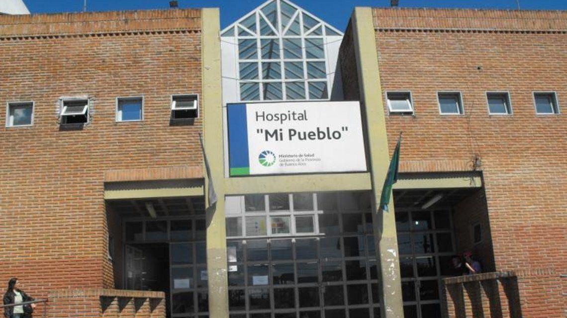 La nena fue llevada al Hospital Mi Pueblo
