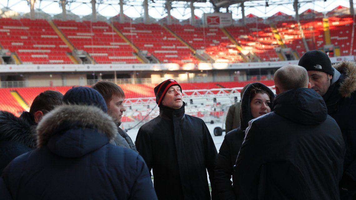El estadio Otkrytie Arena