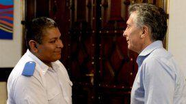 Mauricio Macri recibió al policía investigado por un posible caso de gatillo fácil