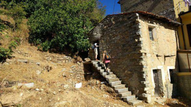 Los turistas visitan poco a la apacible aldea de Cerdeña