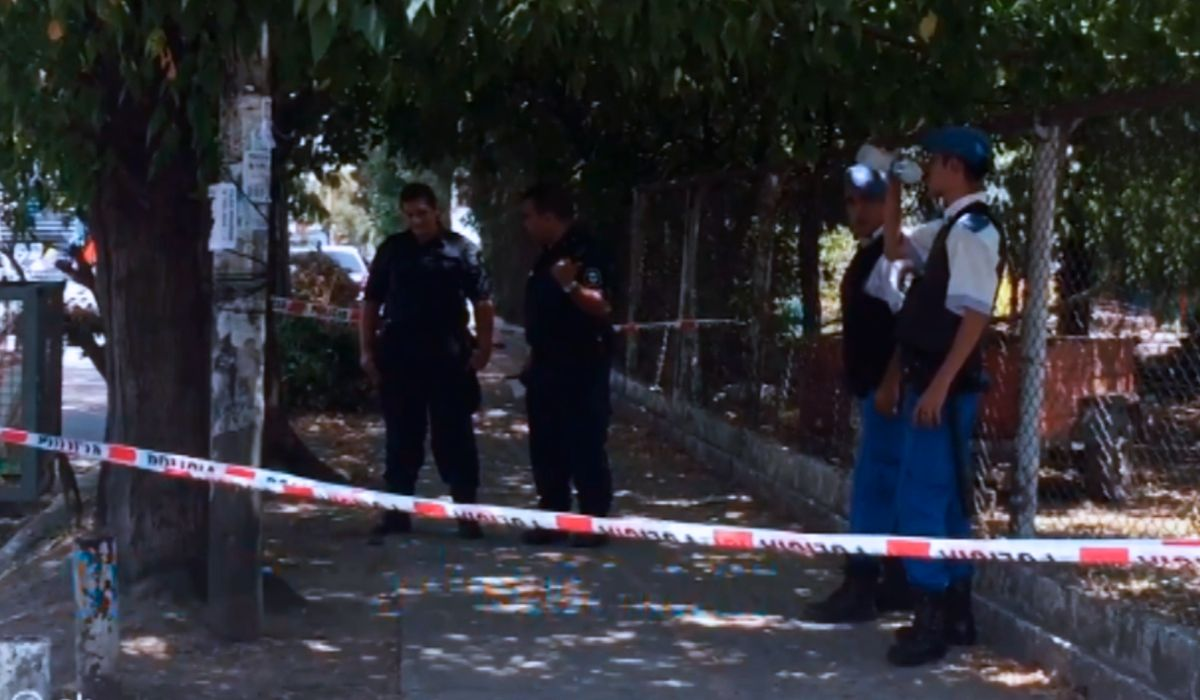 El policía y la víctima quedaron internados