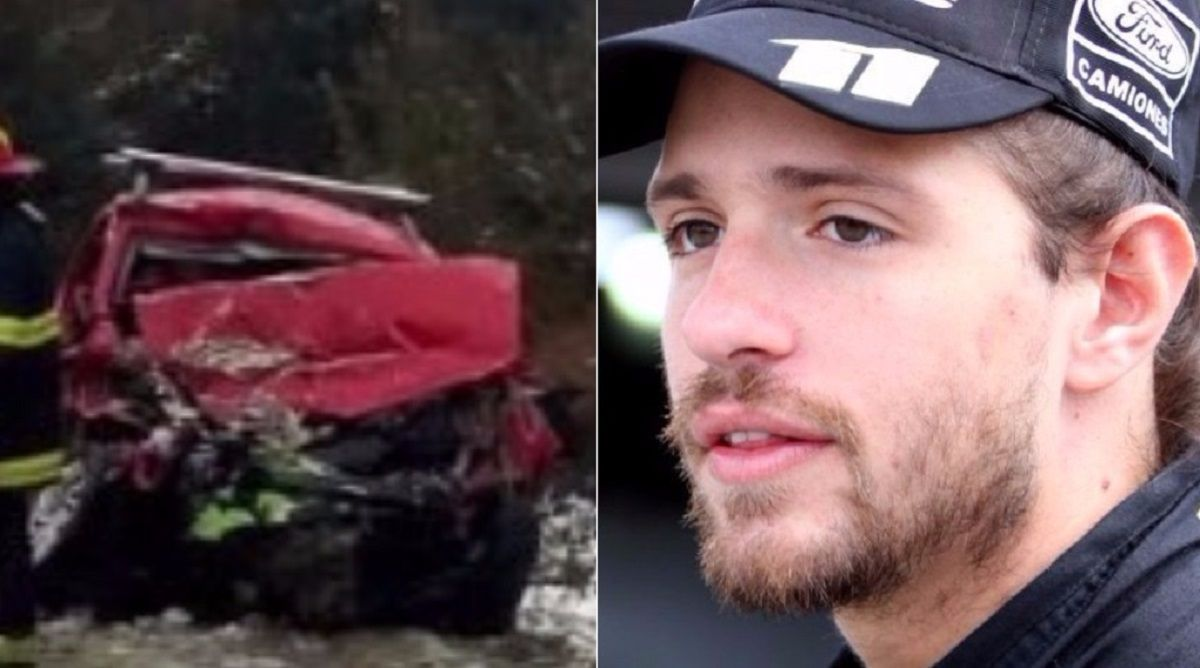 Las primeras imágenes de Mauro Giallombardo tras el accidente que casi le cuesta la vida