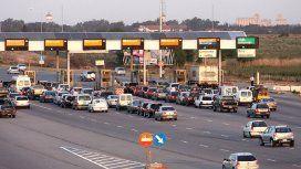 Los aumentos llegan también este sábado a los peajes de Acceso Oeste y Panamericana
