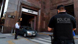 Detuvieron a siete personas luego de un allanamiento a la AFIP