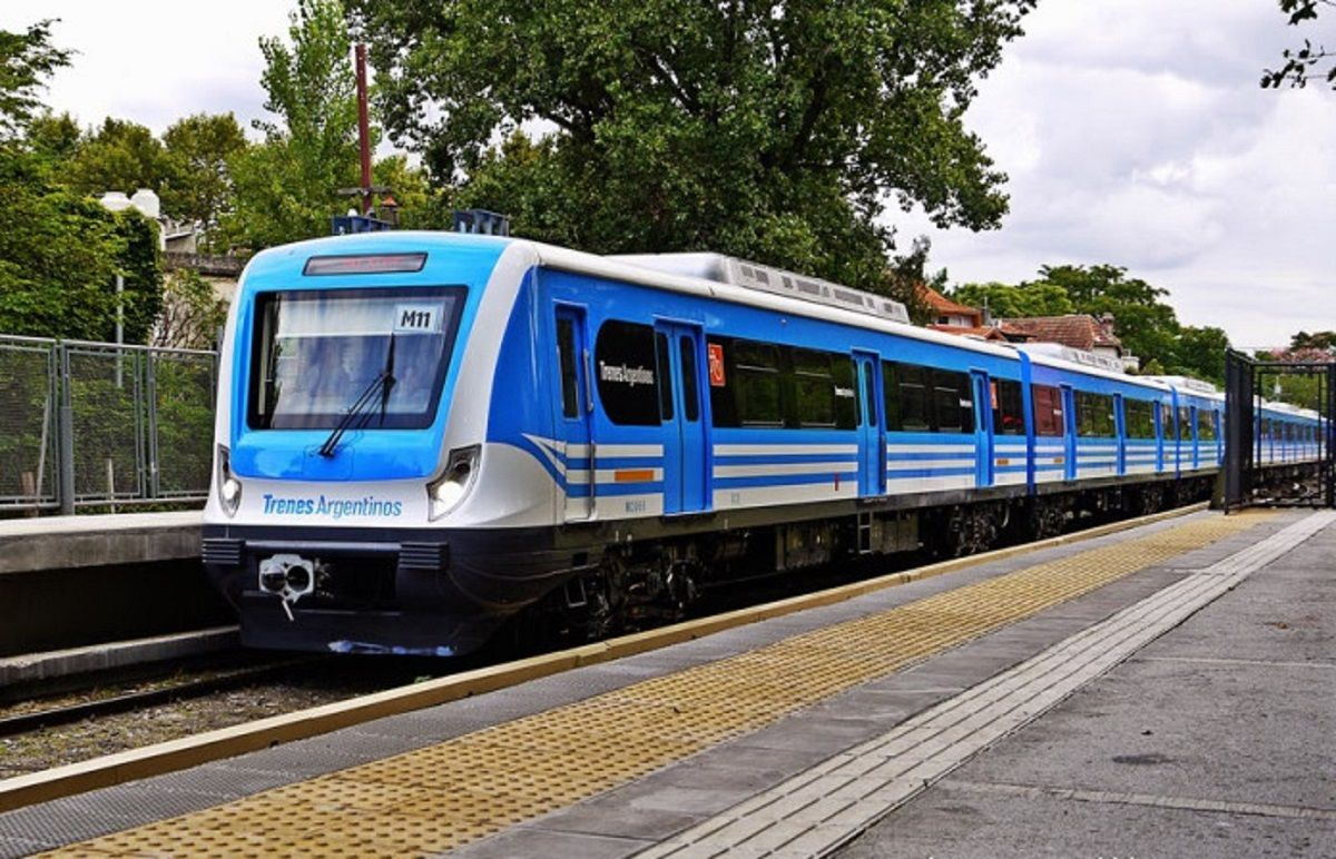 Los trenes Mitre y Sarmiento circulan con servicio limitado este fin de semana