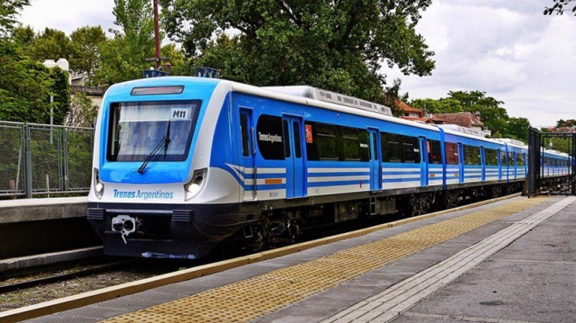 Los trenes Mitre y Sarmiento funcionan con servicio limitado este fin de semana