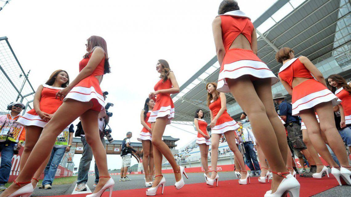 Las promotoras engalanaron durante años la Fórmula 1