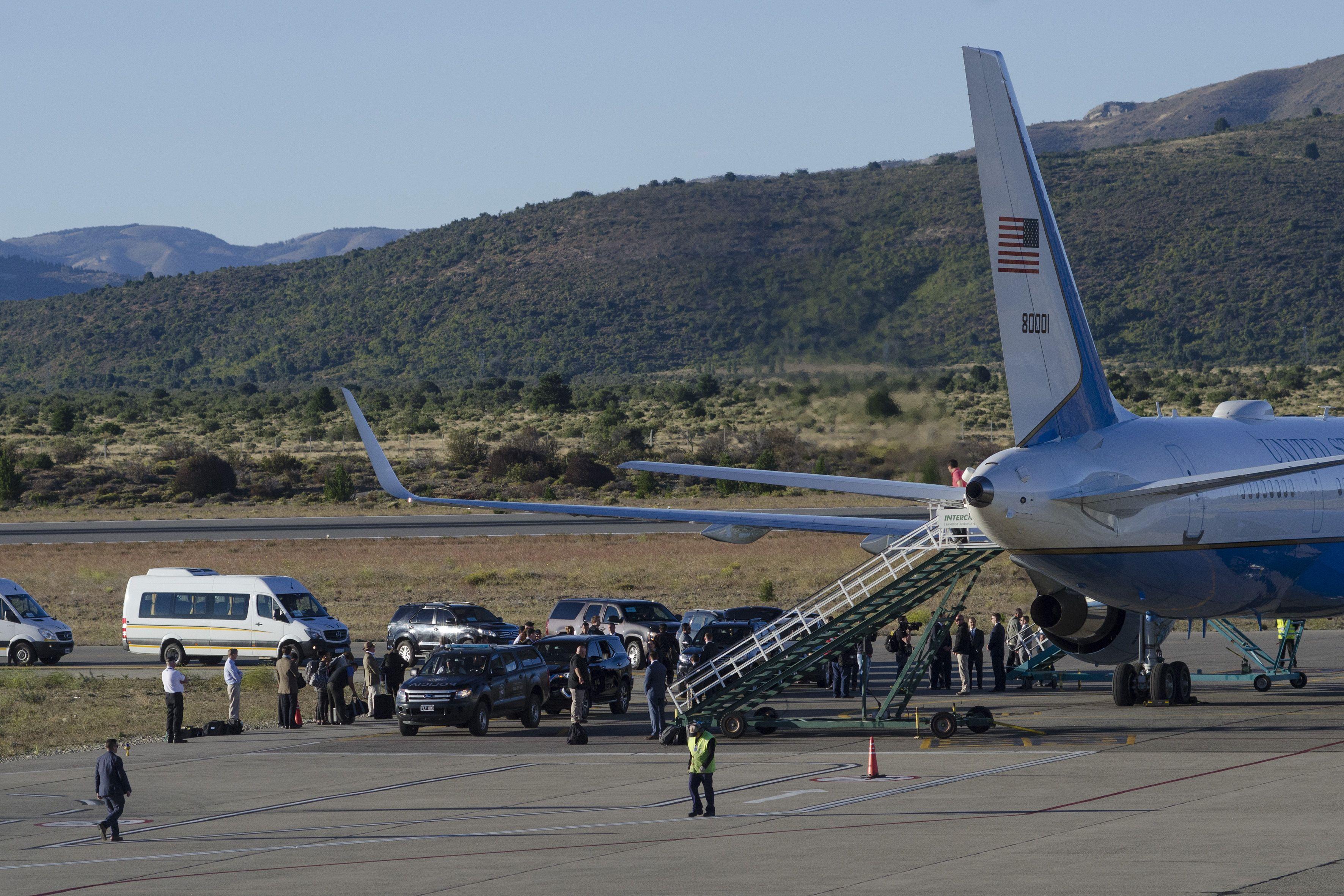 Tillerson llegó este sábado a Bariloche