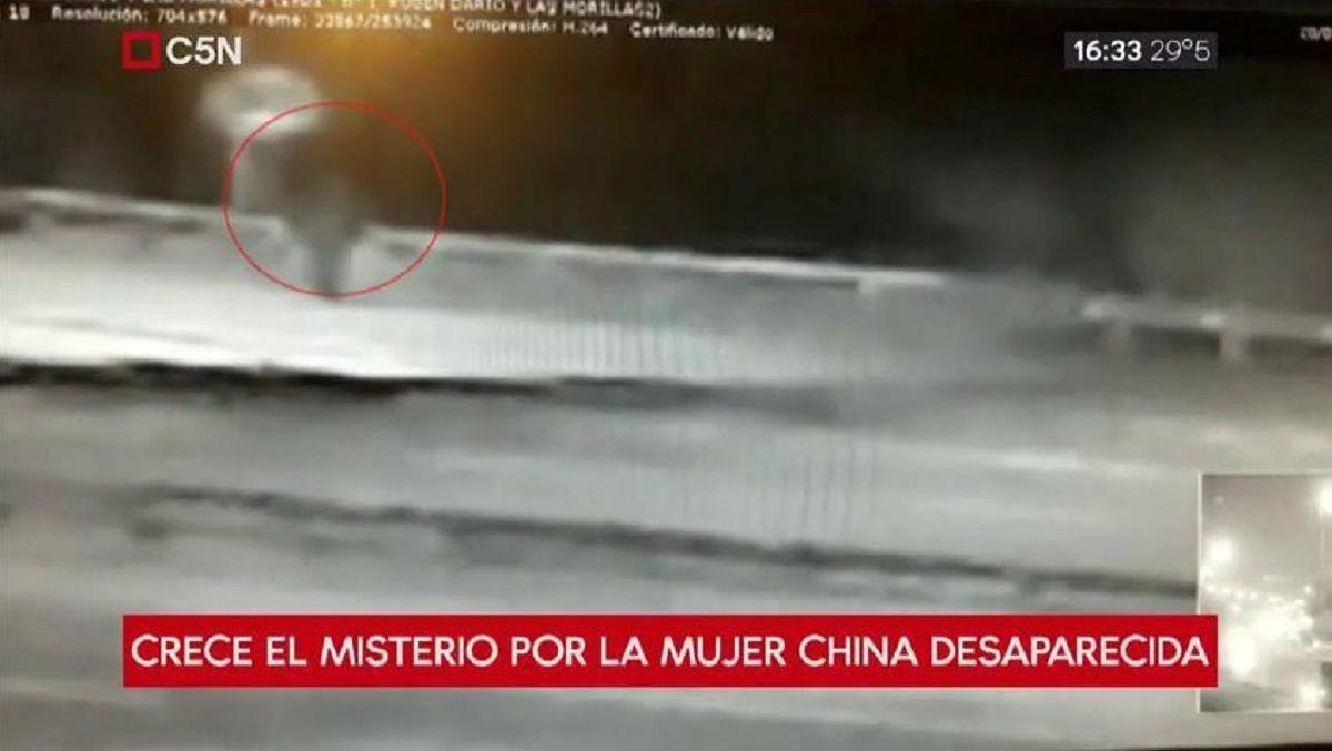 Habrían visto aSun Zhong Qin caminando por autopista Ricchieri