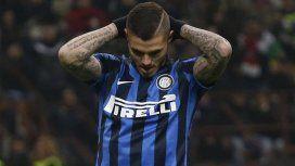 Icardi no se calló nada en medio de su escándalo con el Inter y publicó un desafiante mensaje