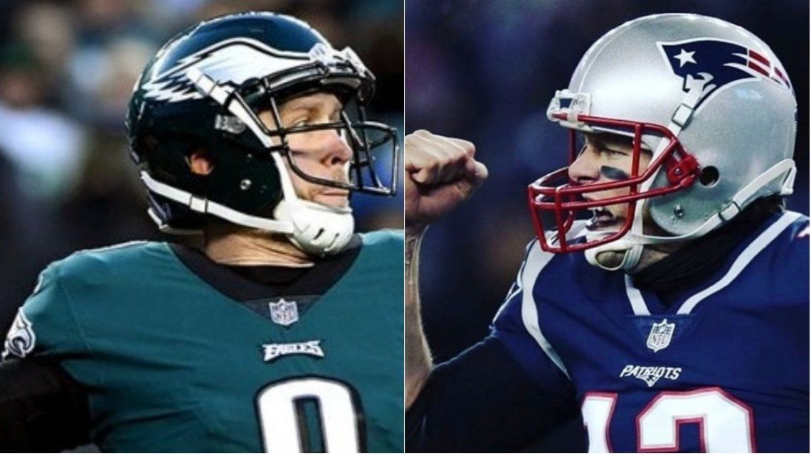 Eagles y Patriots juegan el Super Bowl número 52