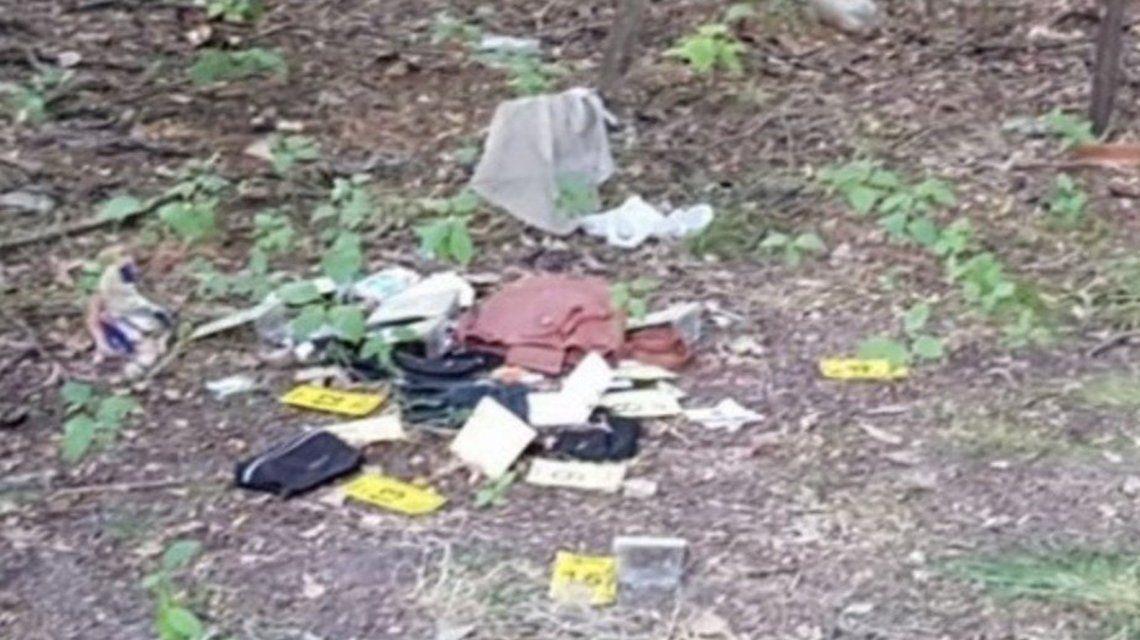 La cartera y el pasaporte fueron encontrados en el kilómetro 23 de la autopista Ricchieri