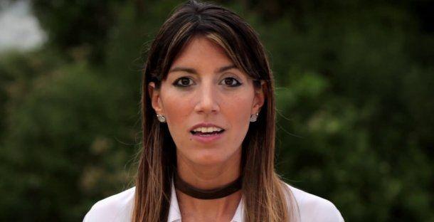Diputada Nadia García Amud.