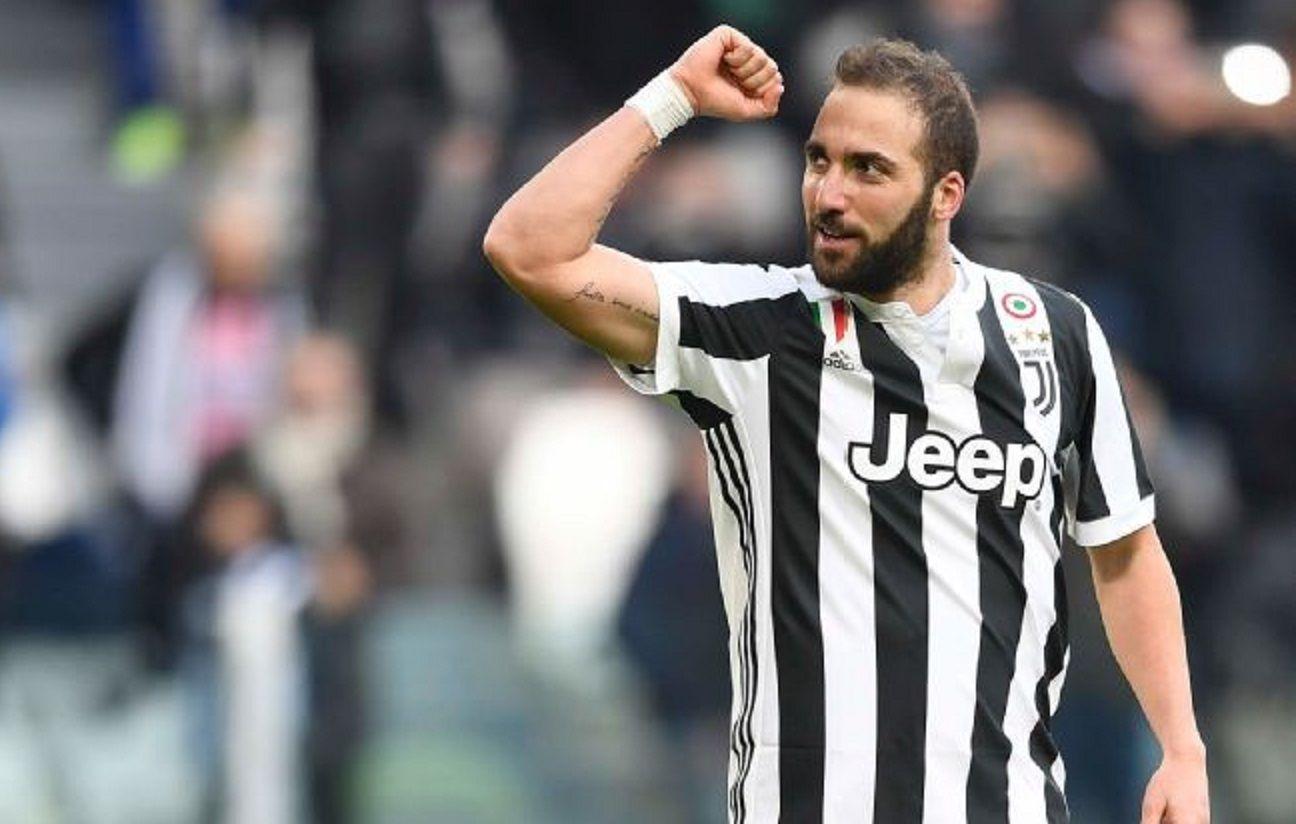 ¿Es el 9 de la Selección? Higuaín anotó su primer triplete con la camiseta de la Juventus