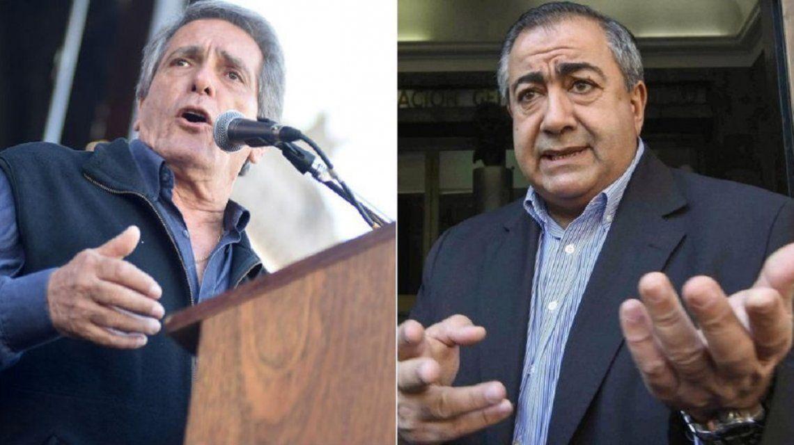 Carlos Acuña arremetió contar Héctor Daer