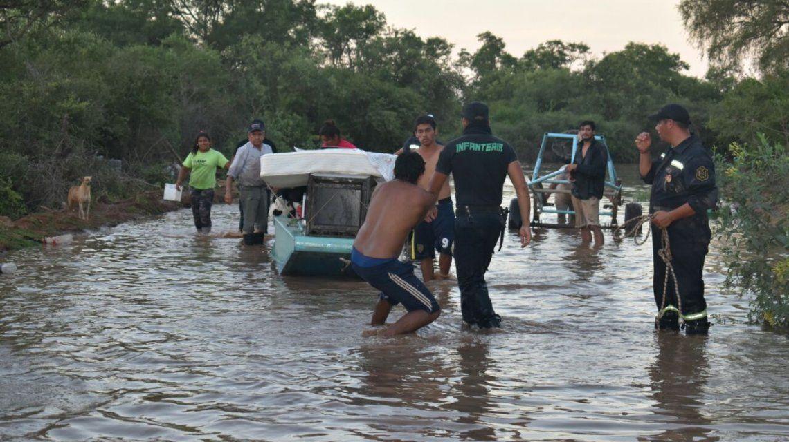 Salta: hay más de 7000 evacuados por la crecida histórica del río Pilcomayo
