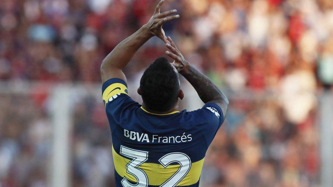 Carlos Tevez - Crédito:@BocaJrsOficial