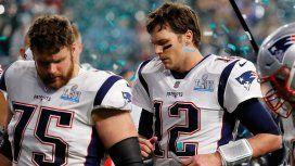 Tom Brady, el 12 se va cabizbajo