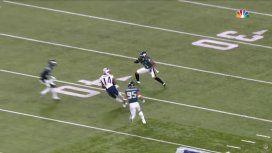 VIDEO: El golpe de Jenkins a Brooks que lo sacó del Super Bowl