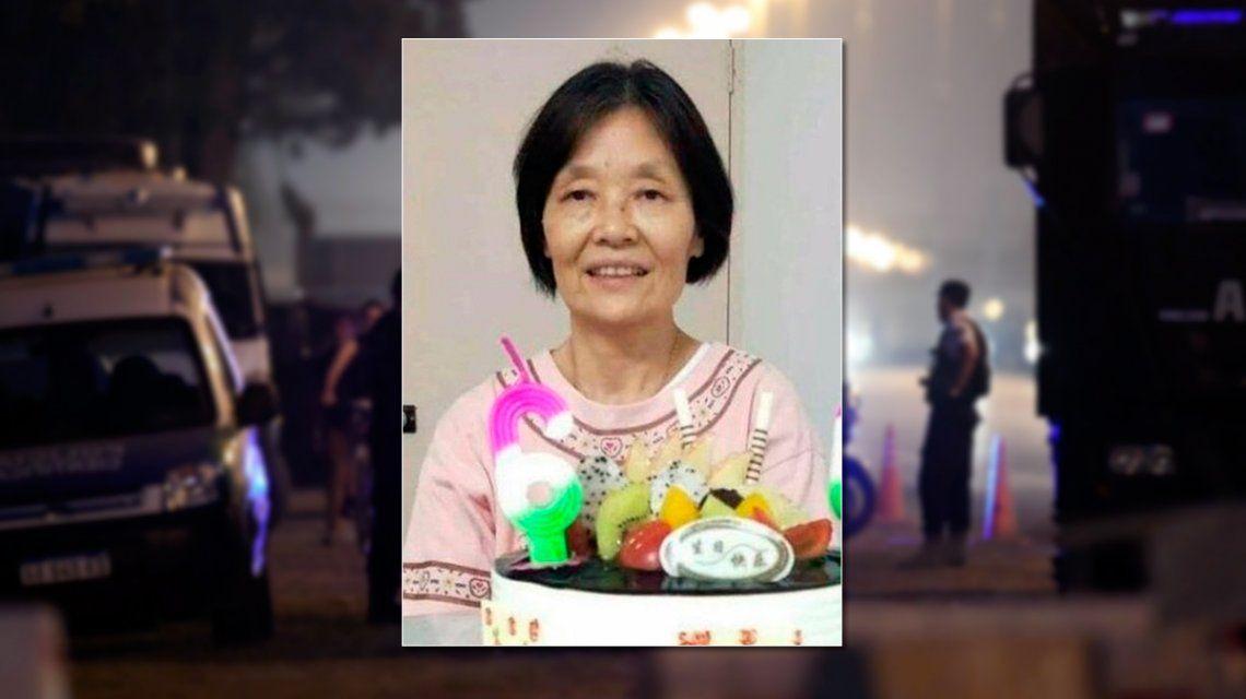 El hijo de la mujer china reconoció el dije en el cuerpo hallado en Ezeiza