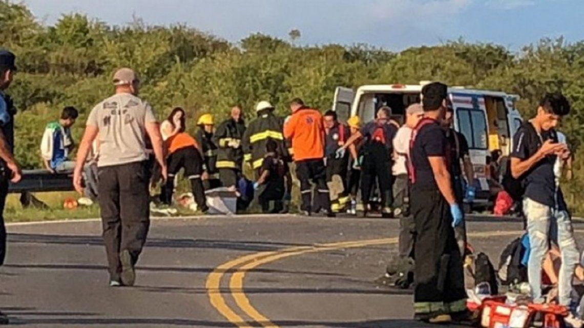 Los heridos fueron trasladados al Hospital de Carlos Paz.
