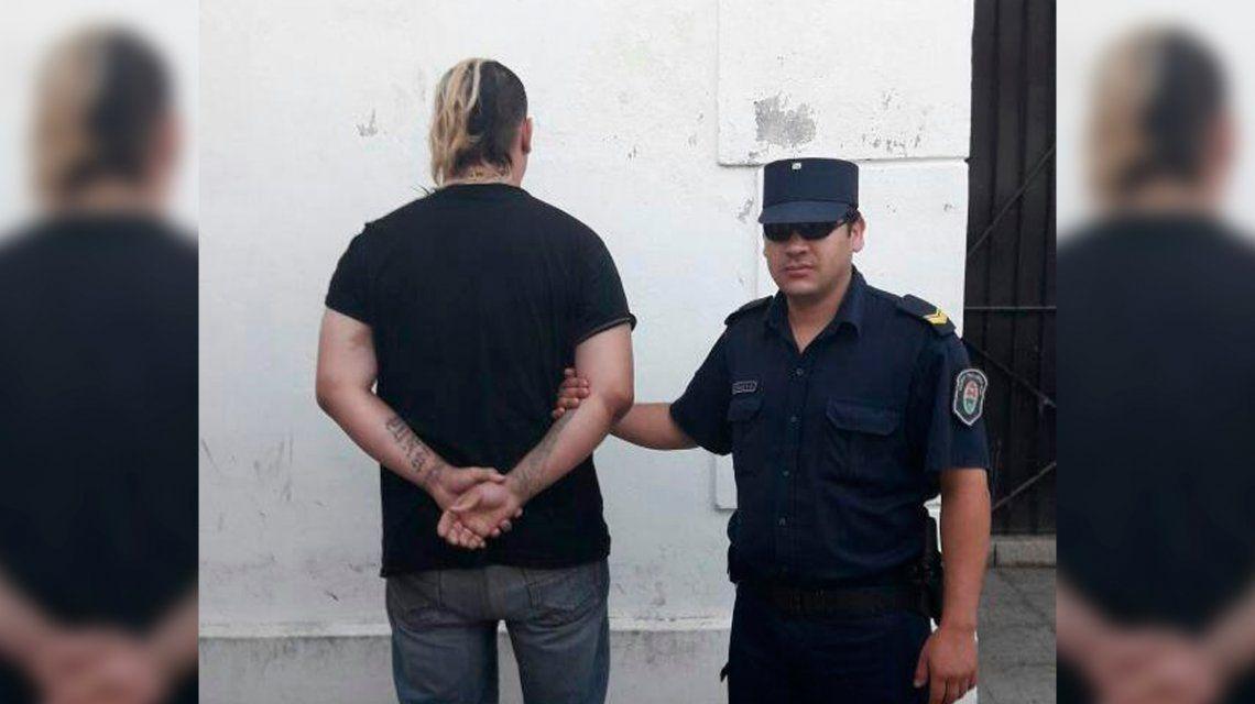 Ariel Cristian Genez fue detenido mientras dormía a la vera de la ruta 14