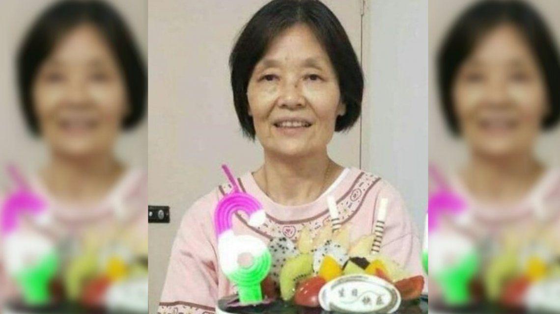 Difunden nuevas imágenes de la ciudadana china en Ezeiza: aparece en el patio de valijas