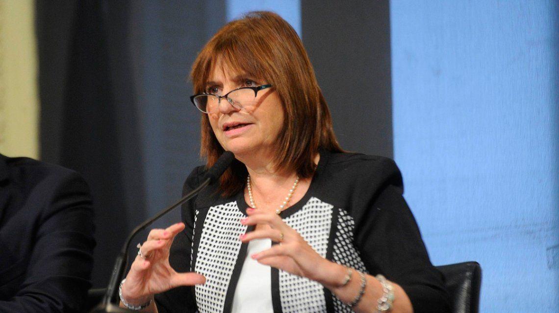 Patricia Bullrich también presentó su Casa de Papel: cayó una banda que falsificaba billetes