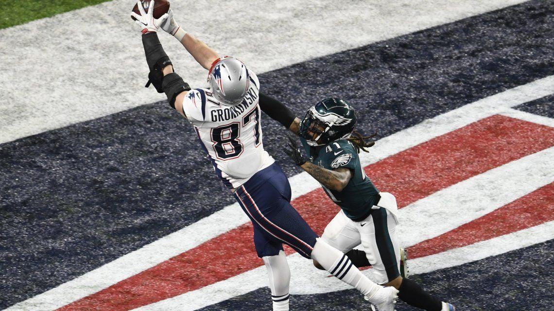 El jugador de 28 años convirtió dos touchdowns el último domingo