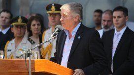 El ministro de Defensa, Oscar Aguad, garantizó que el ARA San Juan estaba en condiciones de navegar.