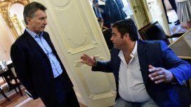 Mauricio Macri y Jorge Triaca
