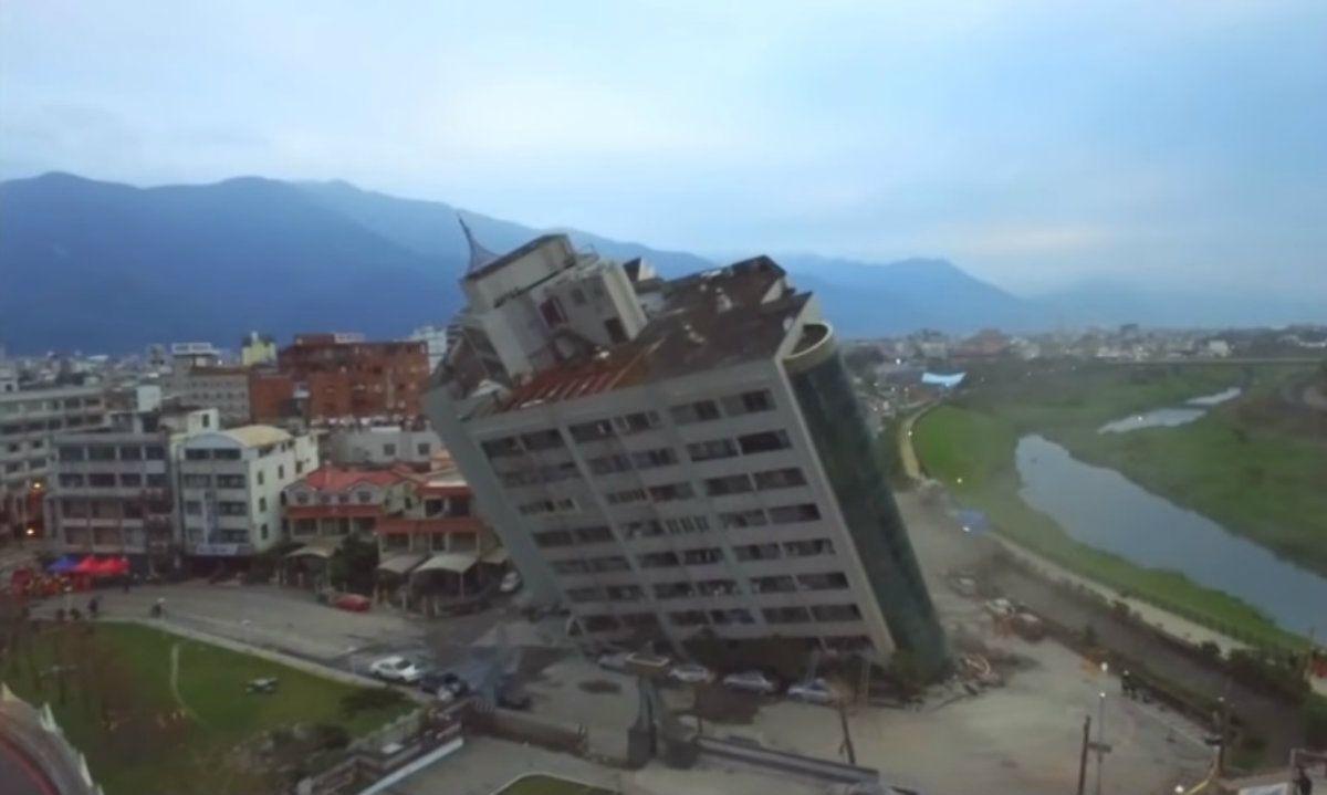 El terremoto de 6