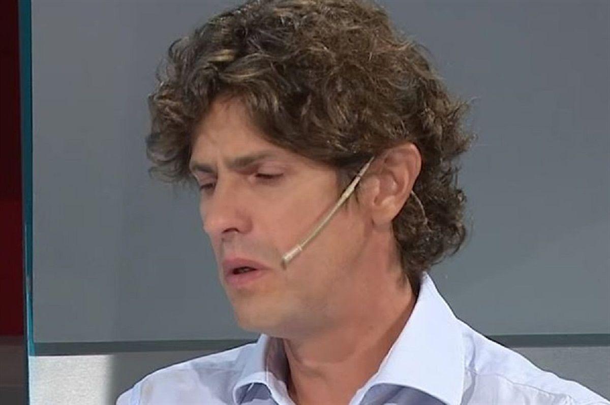 Martín Lousteau fue invitado a la señal de noticias en la que trabajaba Débora Pérez Volpin