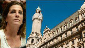 Débora Pérez Volpin y la Legislatura porteña