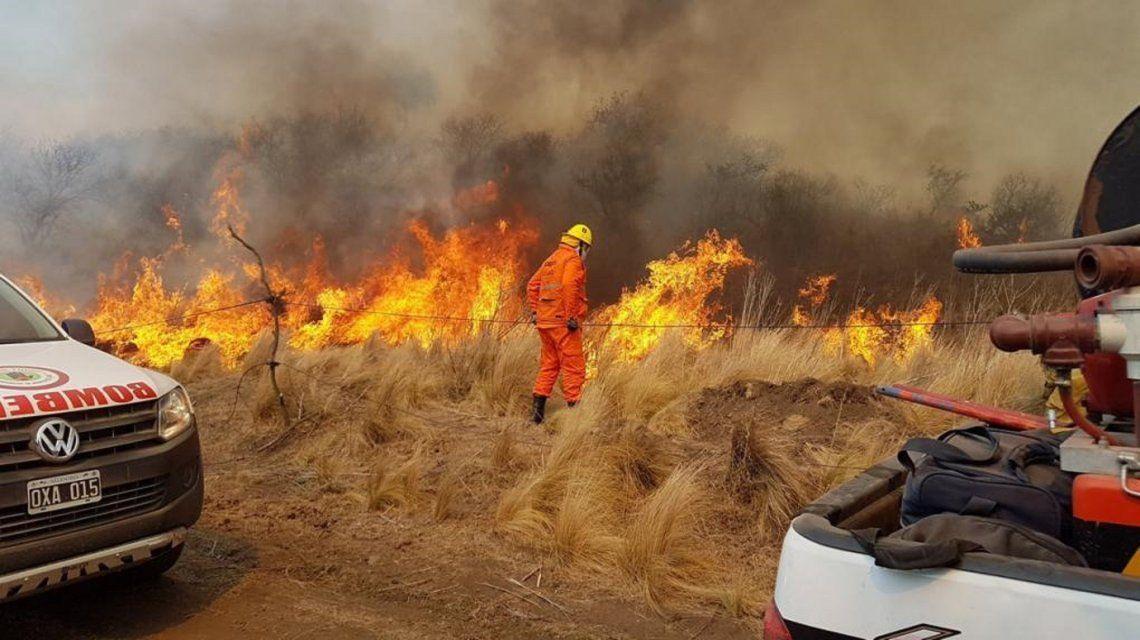 Córdoba: quisieron hacer un asado y terminaron quemando mil hectáreas