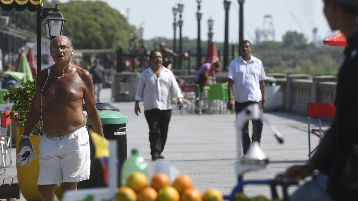 Pronóstico para los próximos días: clima cálido y sin lluvia en la Ciudad